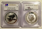 *2014 P Australia Perth PCGS GEM BU Silver Wedge Tailed Eagle Mercanti-7DAY NR!*