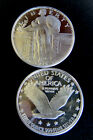 1 oz. Silver Bullion Eagle Liberty Round One Troy Ounce.999 pure fine mint coin