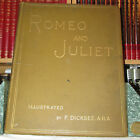 Romeo And Juliet With 12 Illustrations by F Dicksee 1884