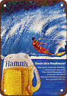Hamm's Beer Vintage Look Reproduction Metal Sign