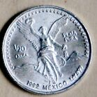 1992 1/20 TROY OZ.  - MEXICO LIBERTAD BULLION ~ .999 SILVER ~ BRILLIANT UNCIRC.