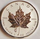 2013 CANADIAN MAPLE LEAF 5 DOLLAR SILVER .9999 - SNAKE PRIVY - REVERSE PROOF