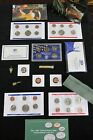 HUGE COIN LOT MINT+PROOF+GOLD FLAKE+ARROWHEAD+ VINTAGE WHEAT PENNY BUFFALO  #72