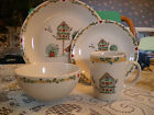 Thomson BirdHouse 2 Place Settings (8 Pieces) Dinner Plates, Mugs, Bowls, Salad