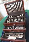 FRANCIS I FIRST REED & BARTON STERLING SILVER FLATWARE SET SERVICE 128 pieces