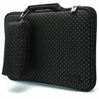 BN 13.3-Inch Laptop Handle Case Sleeve Women's Bag Memory Foam Protection CRBK