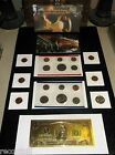 BIG Coin Lot GOLD PLATED 2 DOLLAR & Mint Set LINCOLN WHEAT CENTS =NO JUNK DRAWER