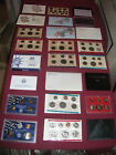 US COIN LOT MINT SETS COIN HOARD proof SEALED COINS = U GET all = no junk drawer