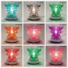 GLASS Electric Scent Oil Diffuser Warmer Burner Aroma Fragrance Lamp FREE 1ozOiL