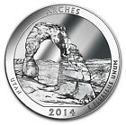 2014 5 oz Silver ATB Arches National Park UT America the Beautiful
