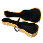 Deluxe Tenor Ukulele Hard Case tweed Yellow