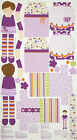 A KEEPSAKES DRESS UP DAY DOLL'S CLOTHES RAG DOLL FABRIC PANEL #7
