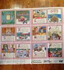 A MERRY LITTLE CHRISTMAS BY MARY ENGLEBREIT COTTON SOFT BOOK FABRIC PANEL (VIP)