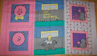 A NO DOG'S ALLOWED SO SAYS THE CAT'S & PIG'S FABRIC PANEL