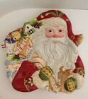 Fitz And Floyd St. Nick Canapé Plate Santa Claus Plate NEW IN BOX