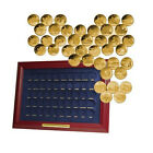 50 State Quarters Gold Plated in Frame 1999-2008 COMPLETE SET