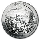 2011 5 oz Silver ATB Coin Glacier MT America the Beautiful SKU 61840