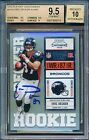 BGS 9.5 10 Auto Rc SP # 492 Eric Decker 2010 CONTENDERS Rookie Signed Autograph
