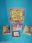 Mary Engelbreit Home Sweet Home Sign Note Cards Post it Note Magnetic Frame Set