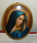 ANTIQUE GERMAN KPM HAND PAINTED PORCELAIN PLAQUE