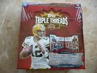 2012 Topps Triple Threads Football Hobby Box Factory Sealed