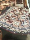 Happy Santas Quilt Pattern Great For Large Print Fabric
