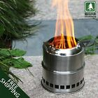 Outdoor Lightweight Wood Gas Alcohol Portable Camping Hiking Backpack Stoves
