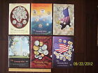 1998 1999 THE KENNEDY MINT Catalogs #'s 36 42 49 51 53 and 55 Coins