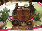 Vintage Cast Iron Worcester London Royal Mail Coach Door Stop Stopper NUYDEA
