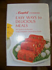 Easy Ways to Delicious Meals Campbell's Cookbook Spiral Hardcover Recipes Soups