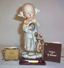 GIUSEPPE ARMANI 1984 FLORENCE Little Clown Boy with Dog WITH TAGS 7-3/4