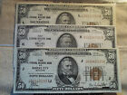 FR 1880  1929 $50 National Currency (All 7 Issued Districts) Nice Brown Seals NR