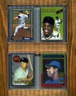 MANTLE MAYS RYAN AARON-1997-2000 Topps Finest Reprints (4)