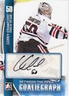 Corey Crawford 2013-14 ITG Between The Pipes GoalieGraph Auto Autograph *U248