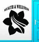 Wall Sticker Vinyl Decal Health Spa Massage Wellness Yoga Lifestyle ig2280