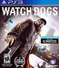 Watch Dogs  (Sony Playstation 3, 2014) PS3