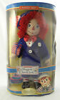 CLASSIC RAGGEDY ANN & ANDY ~ ANDY PORCELAIN DOLL~16-Inch Brass Key Keepsakes~NEW