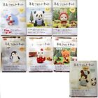 Wool Needle Felt Diy Aminal Kits Cat Dog Penguin Rabbit Panda Bear Dolphin Bird
