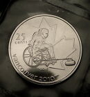 RARE 2007 Canada Quarter Paralympic Mule Coin Mint Sealed UNC RARE ERROR COIN