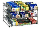 Soup Can Rack Pantry Food Storage Cupboard Kitchen Shelf Soda Organizer Organize
