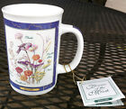 OTAGIRI HUMMINGBIRD Mug . FLOWERS of the MONTH . NWT