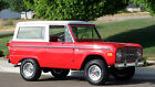 Ford  Bronco Bronco Sport SUV Convertible 1974 ford bronco red uncut 302 v 8 automatic power steering beautiful must see