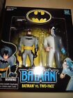 Batman the Animated Series Batman vs Two Face Walmart Exclusive 2 pack figures