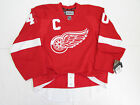 ZETTERBERG DETROIT RED WINGS AUTHENTIC HOME REEBOK EDGE 2.0 7287 JERSEY SIZE 52