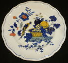 Vintage SPODE BLUE BIRD DINNER PLATE,  10.5