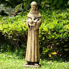 St. Francis of Assisi Holding Dove Bird Home or Garden Statue Christian