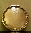 ANTIQUE EPNS SMALL SALVER