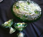 Vintage Lot Of Carnival Glass Perfect Christmas Decor No reserve Fenton?