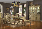 Mc Ferran Table and 6 Chairs Formal Diningroom Dining Set High End Luxury