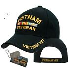 VIETNAM VETERAN RIBBON MILITARY INSIGNIA CAP HAT US ARMY NAVY MARINES AIR FORCE